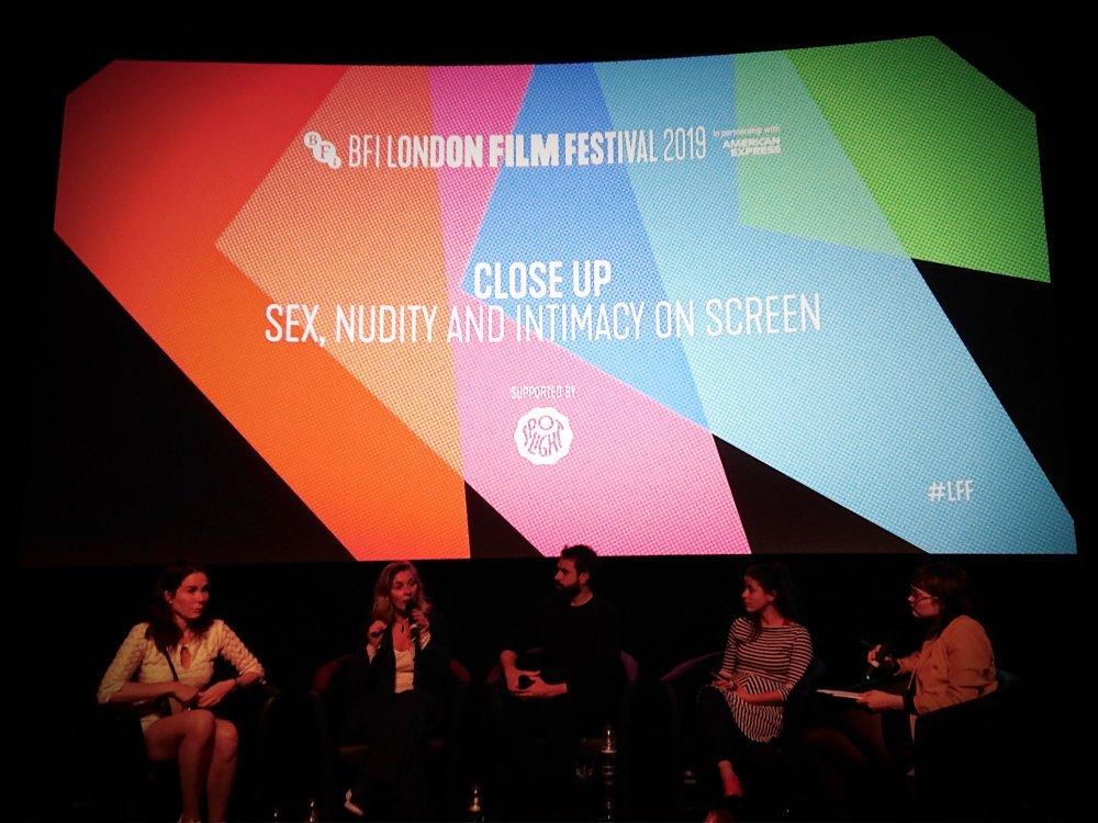 Left to right: Halina Reijn, Ita O'Brien, Tom Cullen, Yarit Dor, Anna Bogutskaya