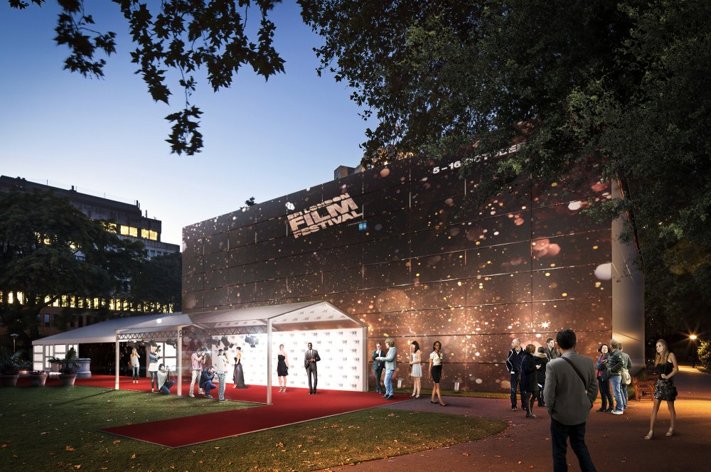 BFI LFF Embankment Garden Cinema exterior