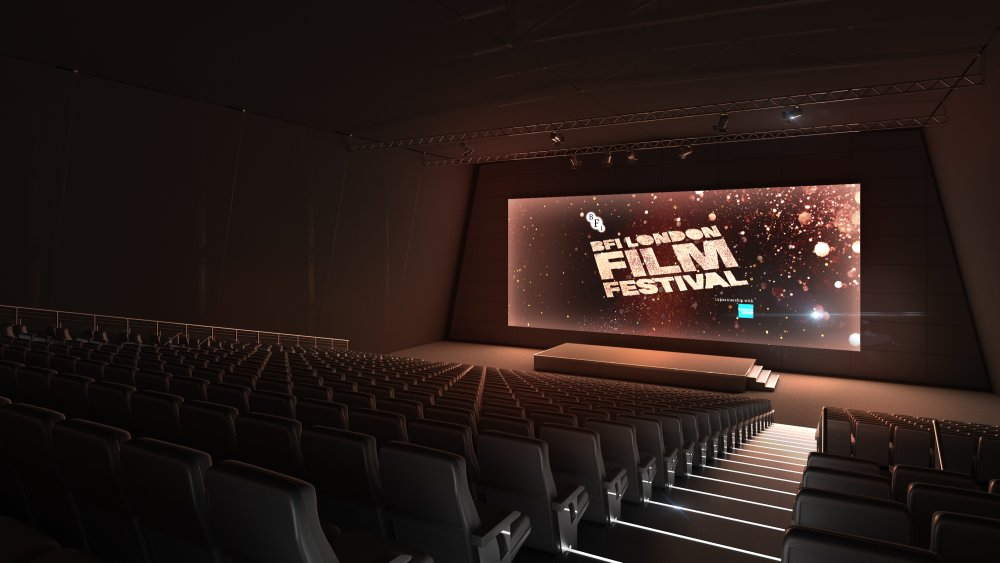 best service a4b1e 668d7 BFI LFF Embankment Garden Cinema interior