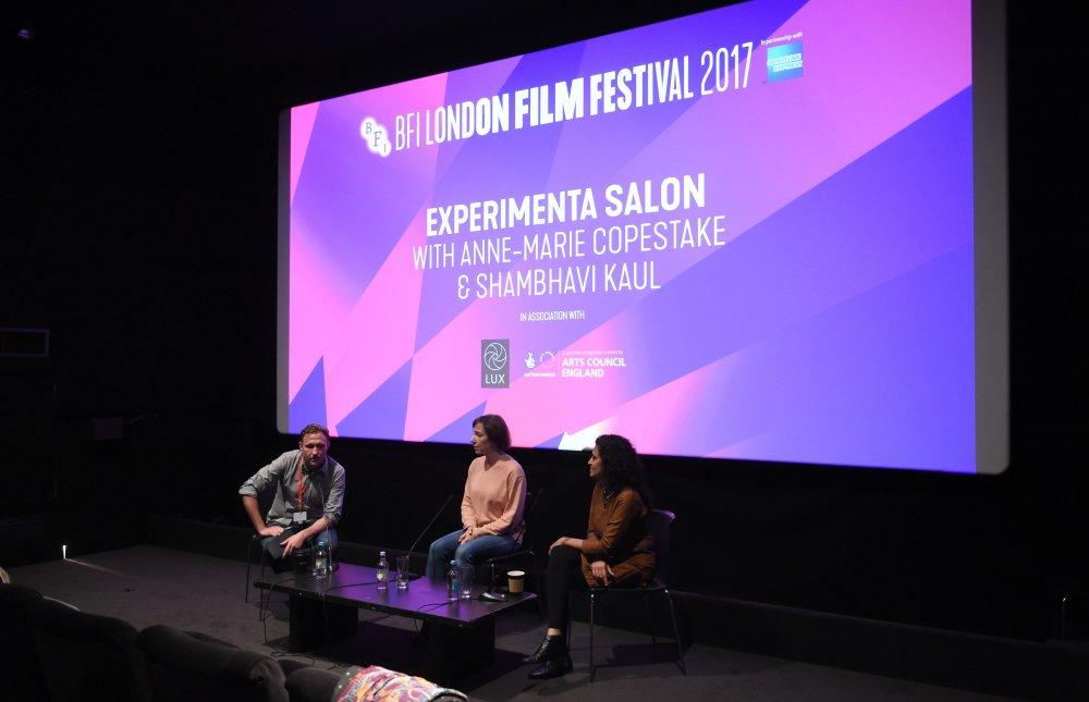 BFI Experimenta Salon with Anne-Marie Copestake and Shambhavi Kaul