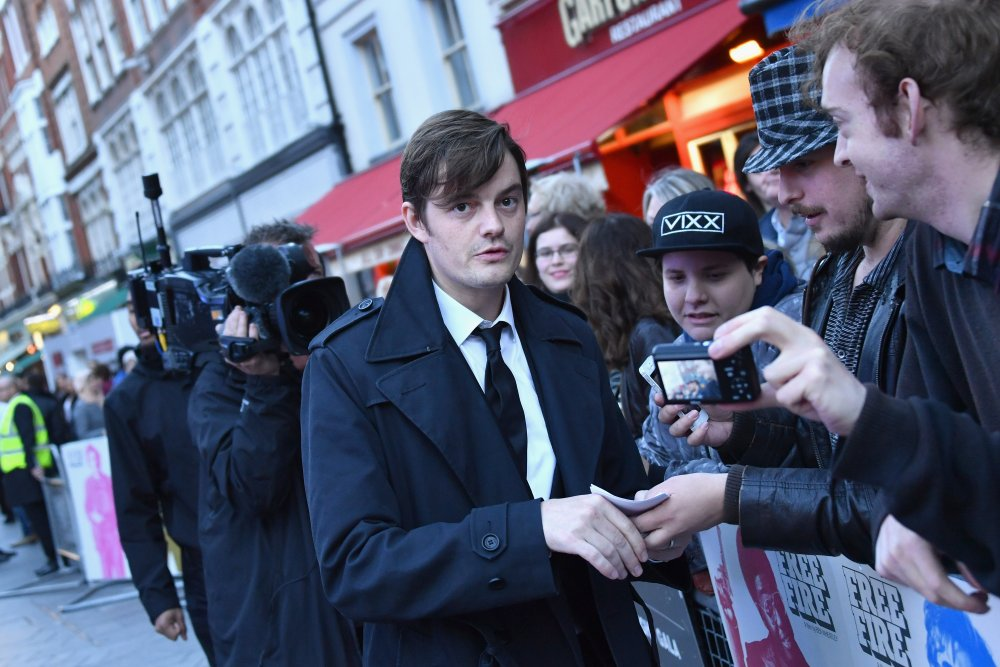 Sam Riley attends the Free Fire Closing Night Gala screening during the 60th BFI London Film Festival