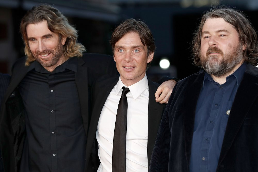 Sharlto Copley, Cillian Murphy and Ben Wheatley attend the Free Fire Closing Night Gala screening during the 60th BFI London Film Festival