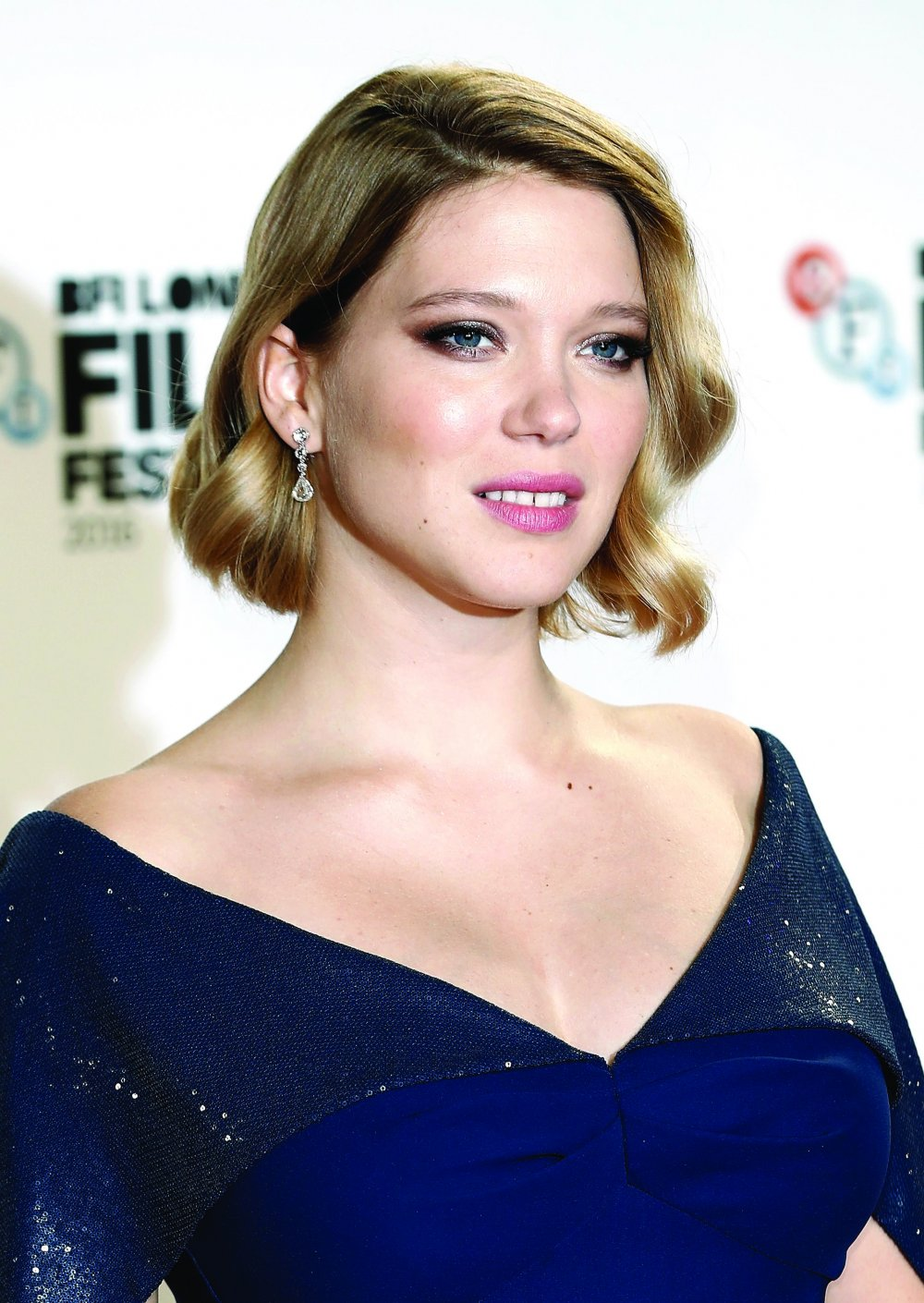 Lea Seydoux attends the It's Only the End of the World BFI Flare Special Presentation screening during the 60th BFI London Film Festival