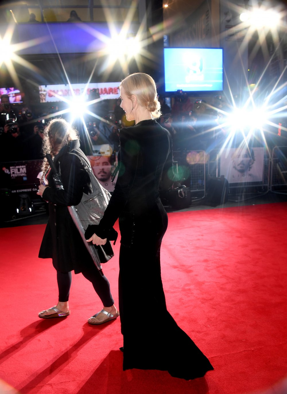 Nicole Kidman attends the Lion American Express Gala screening during the 60th BFI London Film Festival