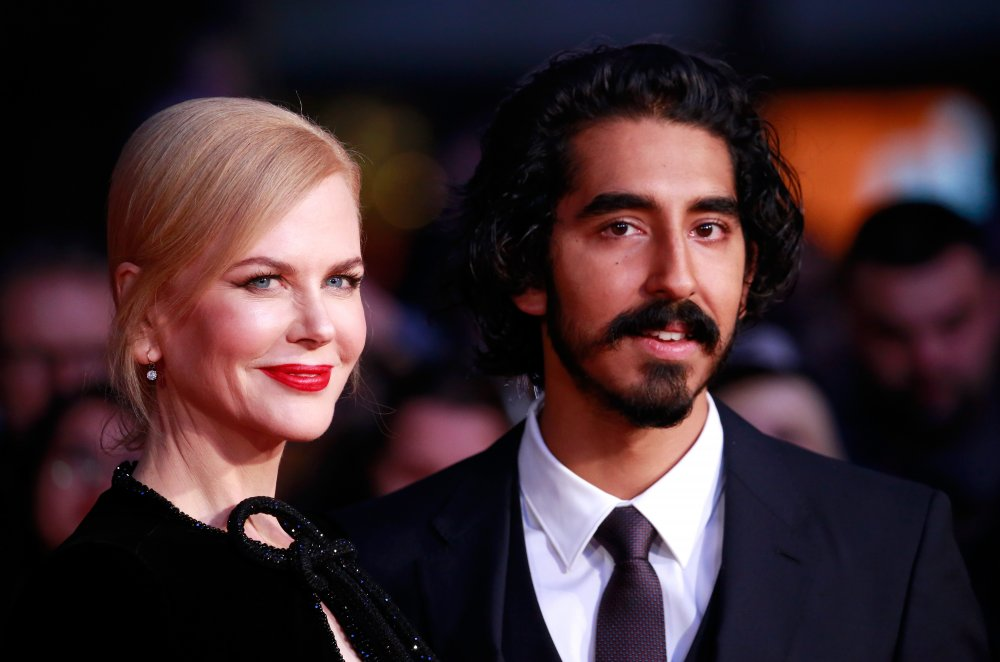 Nicole Kidman and Dev Patel attend the Lion American Express Gala screening during the 60th BFI London Film Festival