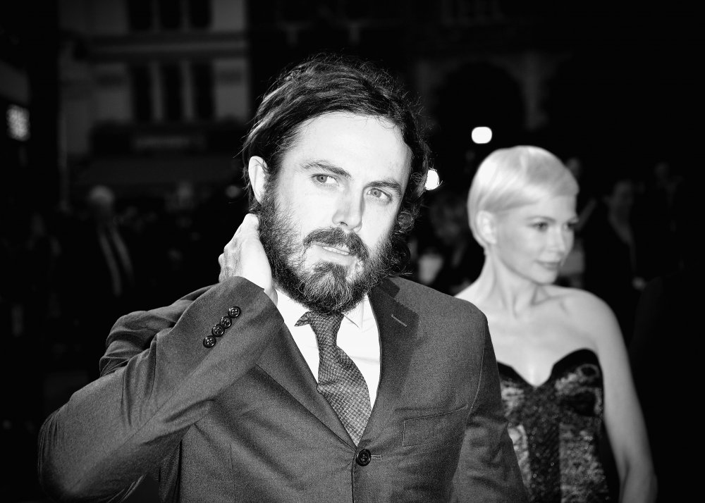 Casey Affleck and Michelle Williams attends the Manchester by the Sea premiere screening during the 60th BFI London Film Festival