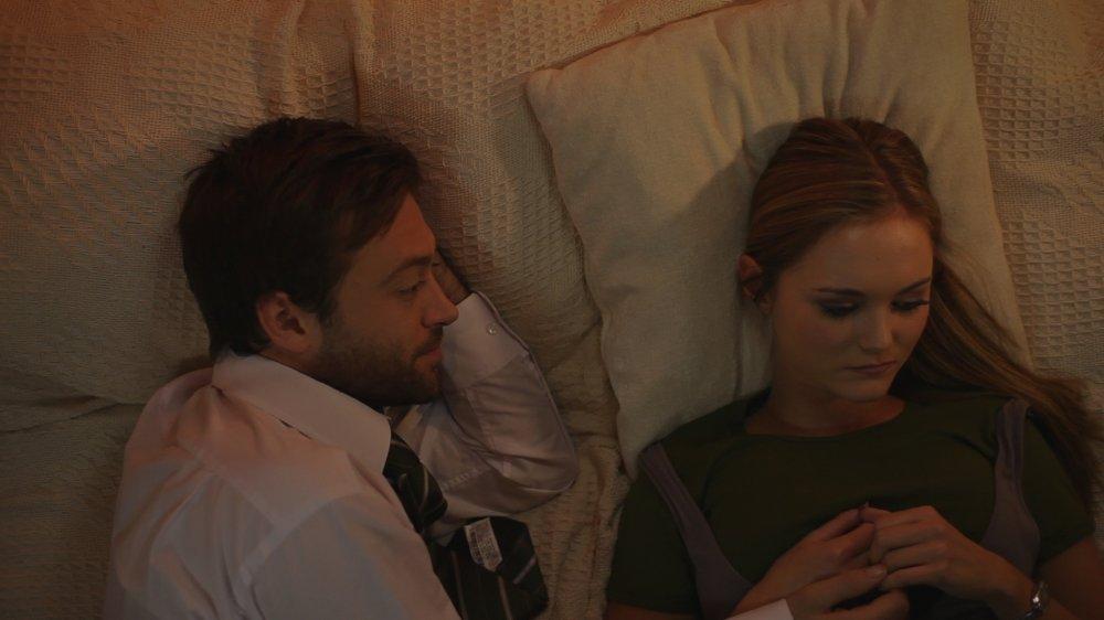 Bobby (Paul Nicholls) and Jay (Jayne Wisener)