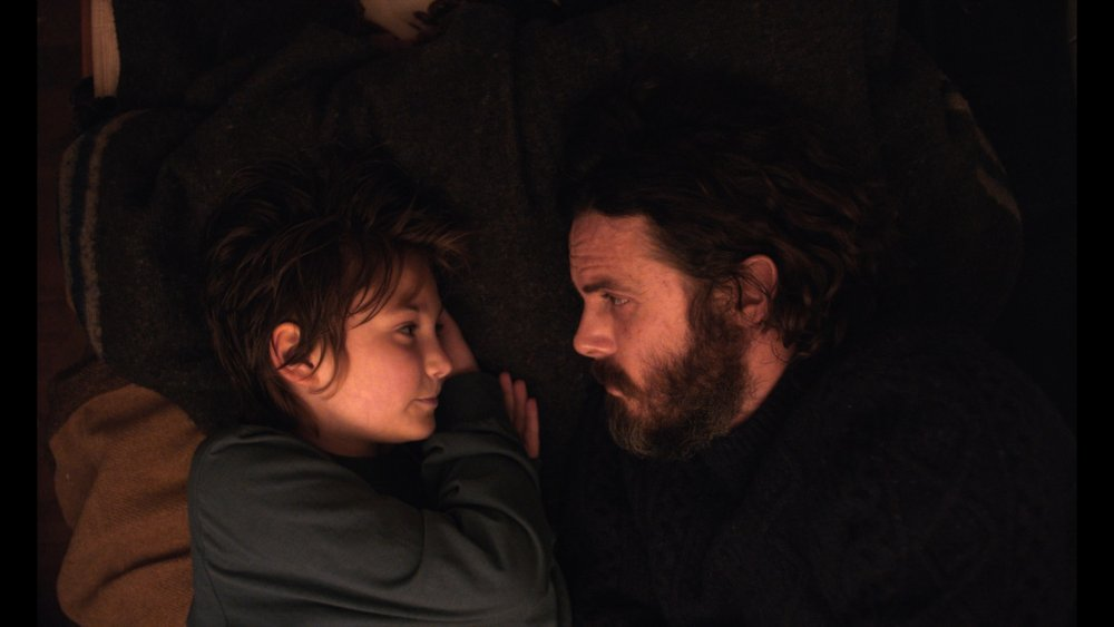 Anna Pniowsky as Rag and Casey Affleck as Caleb in Light of My Life