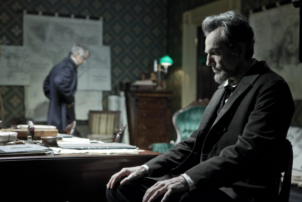 Three-time Oscar-winner Daniel Day-Lewis in Lincoln (2012)
