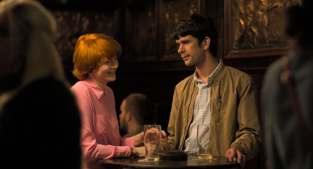 Emily Beecham as Alice and Ben Whishaw as Chris in Little Joe