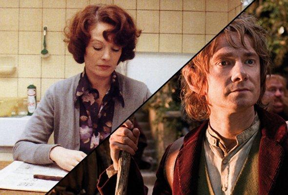 Unexpectedly long journeys: Jeanne Dielman (1975) and The Hobbit (2012)