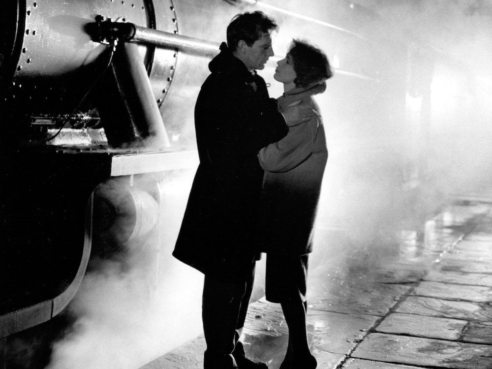 Richard Burton as Jimmy Porter and Claire Bloom as Helena Charles in Look Back in Anger
