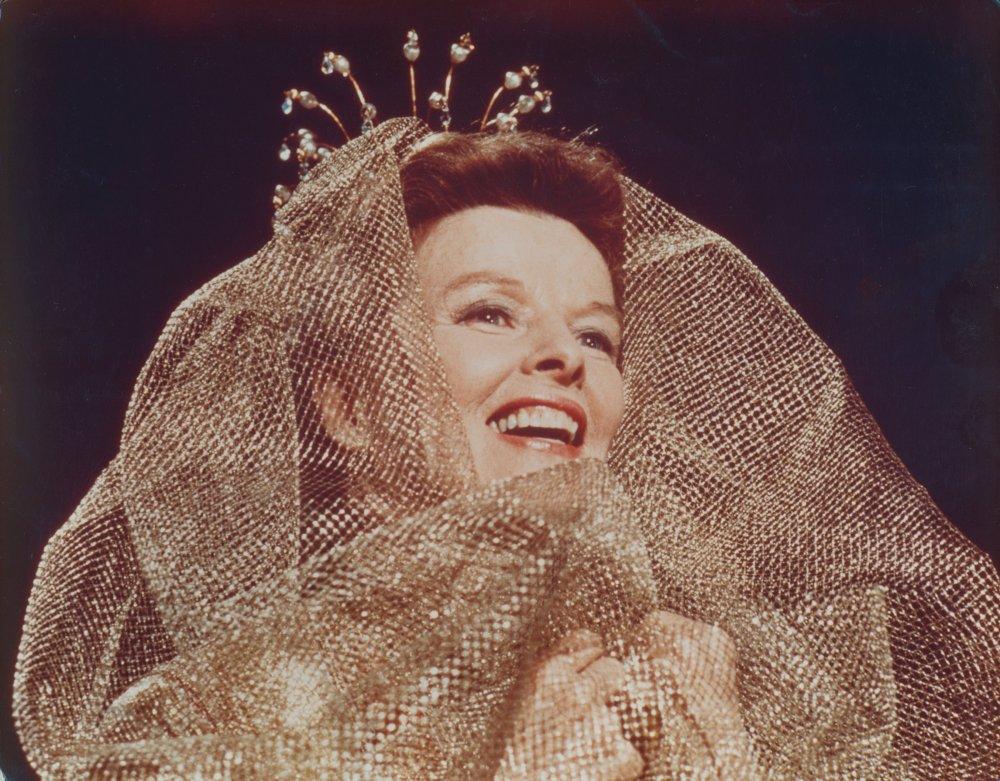 Katharine Hepburn in George Cukor's 1975 telemovie Love Among the Ruins