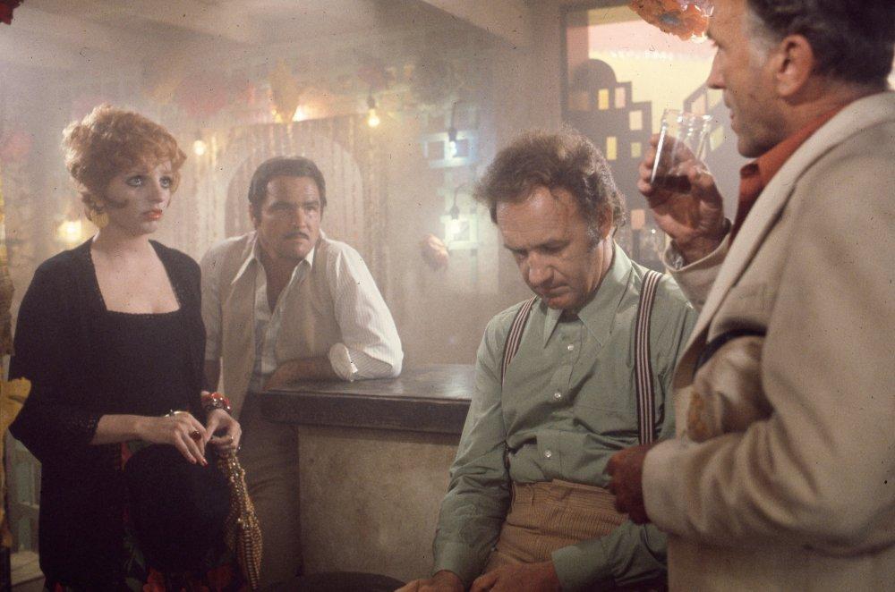 Liza Minnelli, Rurt Reynolds and Gene Hackman in Lucky Lady (1975)