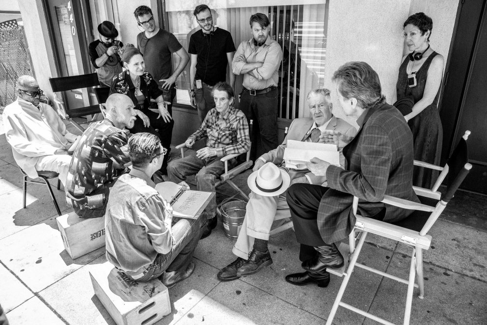 Harry Dean Stanton, David Lynch and the cast and crew of Lucky