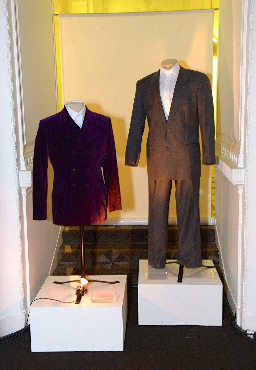 Velvet jacket worn by Daniel Craig in his breakthrough role as Geordie in Our Friends in the North (1996) and John Travolta's suit when he played the dual role of Sean Archer and Castor Troy in FACE/OFF