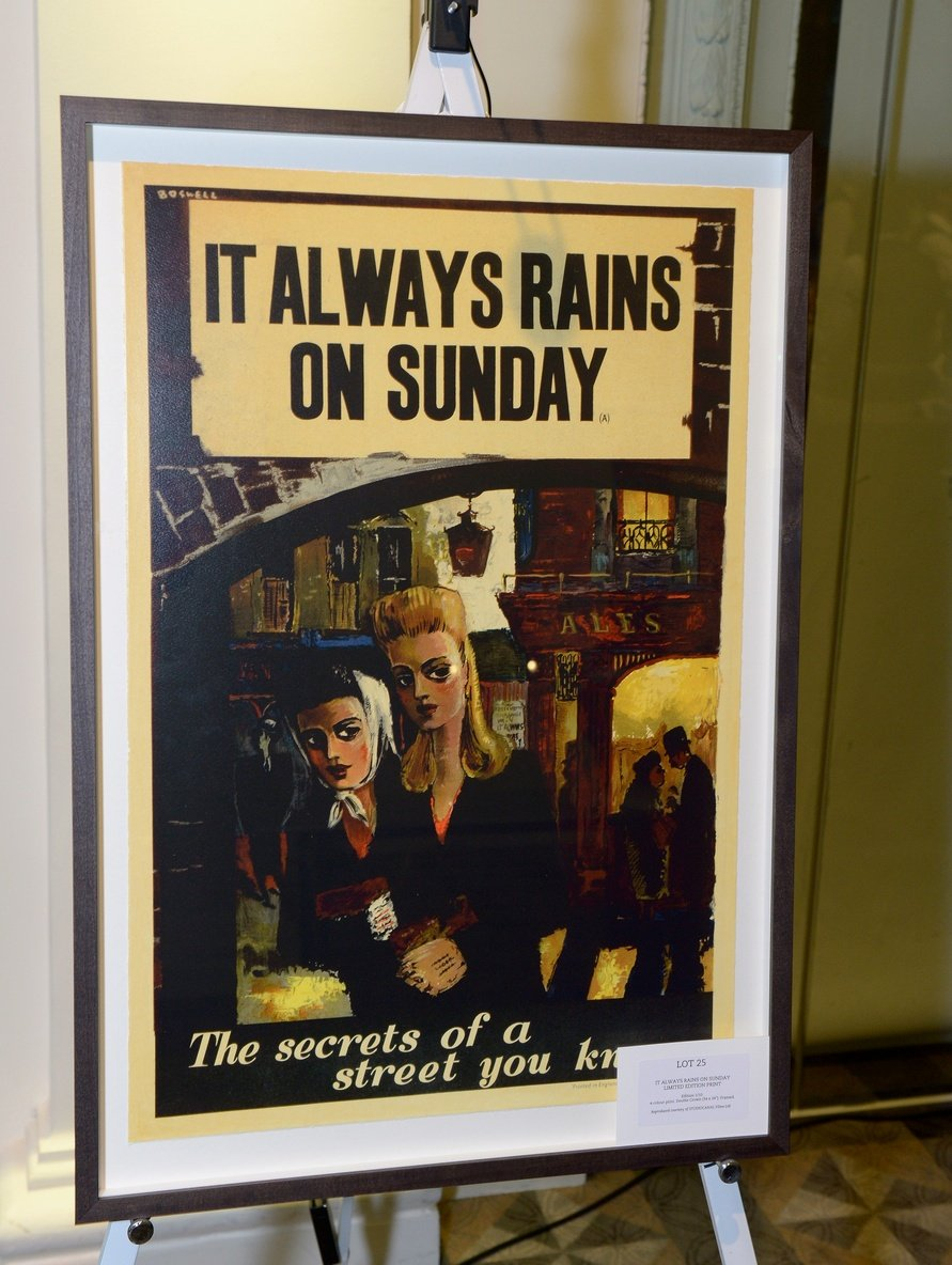 It Always Rains on Sunday limited edition print