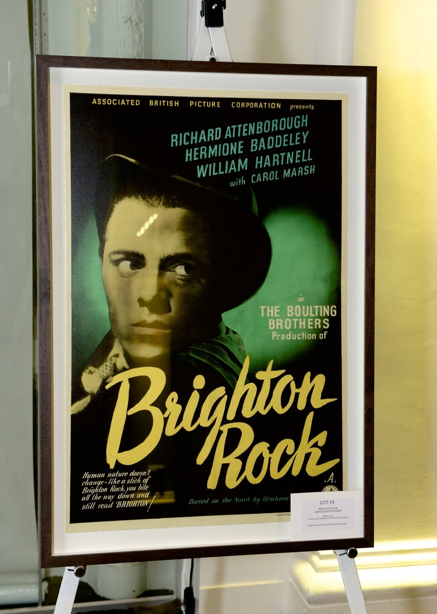 Brighton Rock limited edition print
