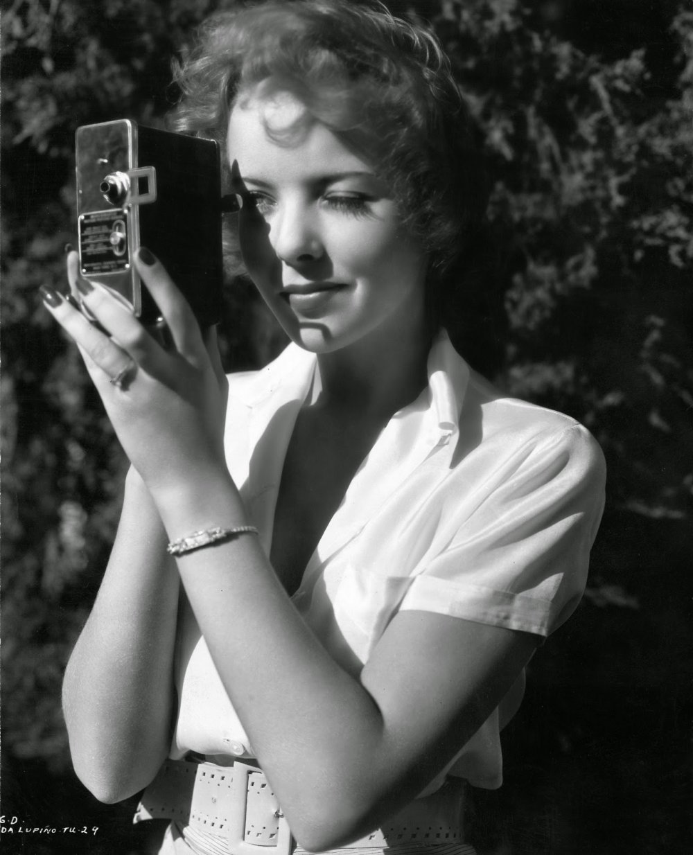 Hollywood star cum director Ida Lupino