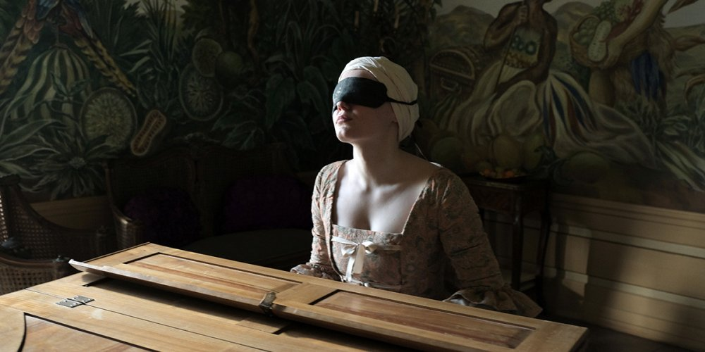 Maria-Victoria Dragus as the titular blind piano prodigy of Barbara Albert's Mademoiselle Paradis
