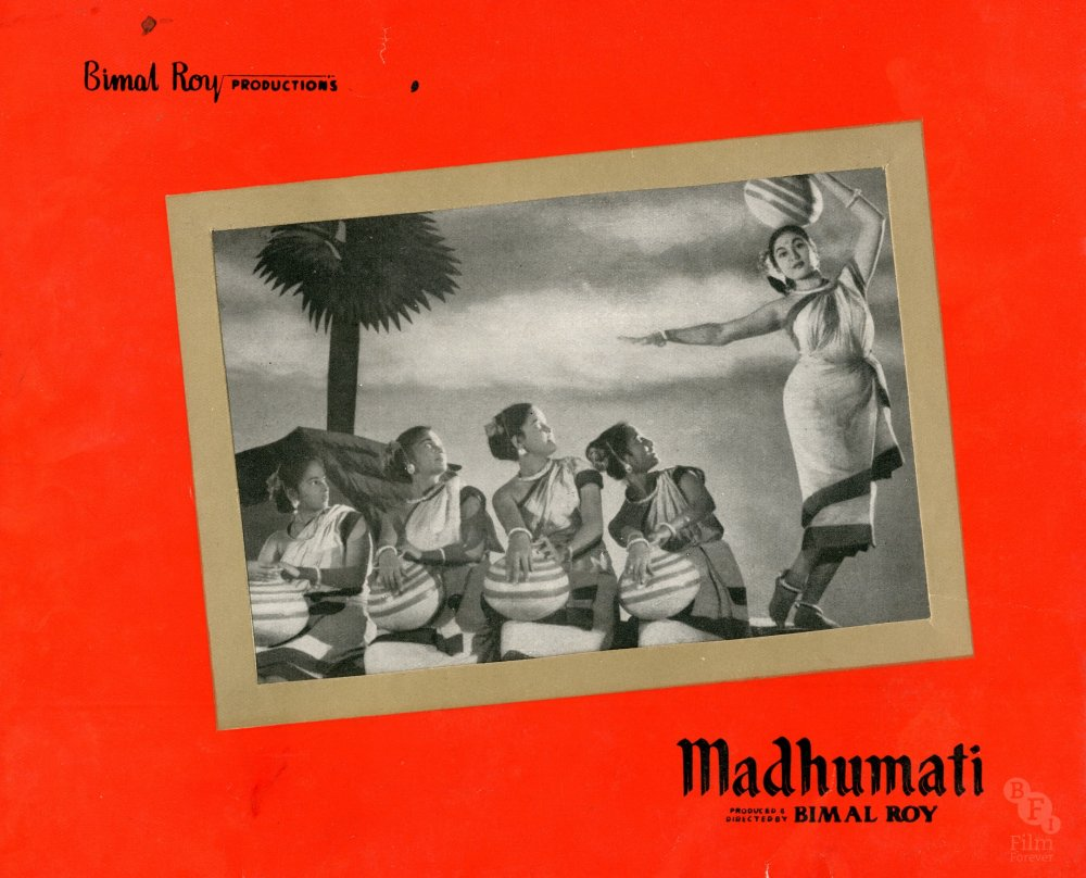"<strong>Madhumati (1958)</strong>  Director <a href=""http://www.bfi.org.uk/films-tv-people/4ce2b9ee3ea00"">Bimal Roy</a>'s biggest hit is a gothic-style ghost story in which a young man shelters in an old mansion and experiences flashbacks to a past life and a lost love, <a href=""http://www.bfi.org.uk/films-tv-people/4ce2b6af862e4"">Madhumati</a>. The film features one of the best, and best-loved, scores of Hindi cinema"