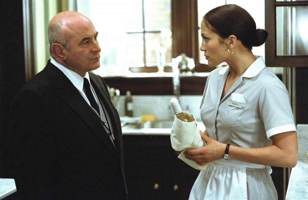He played head butler Lionel Bloch in this 2002 hotel-set romantic comedy starring Jennifer Lopez as the eponymous Maid in Manhattan