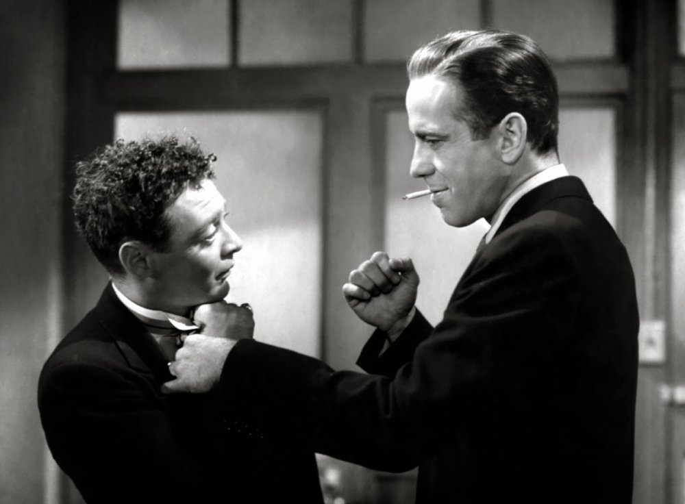 Bogart with Peter Lorre in The Maltese Falcon (1941)