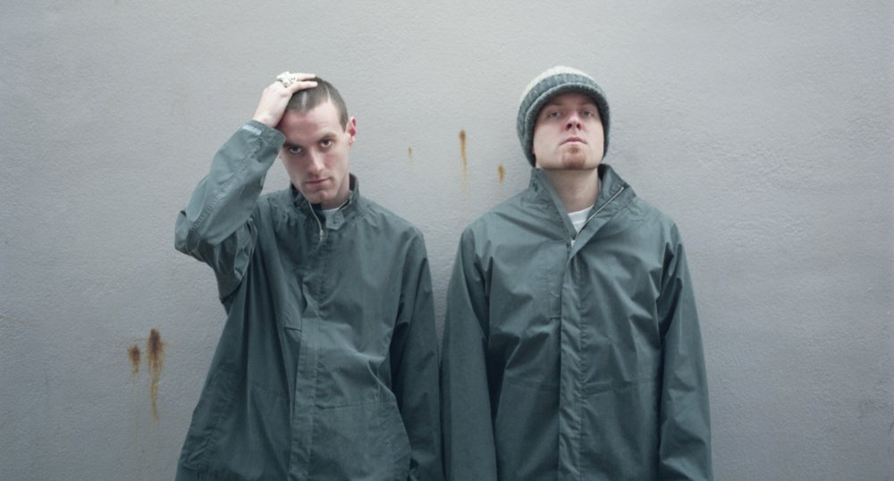 James Lavelle and Josh Davis aka DJ Shadow in The Man from Mo' Wax