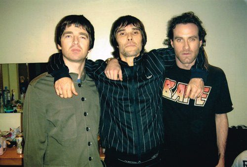 Noel Gallagher, Ian Brown and James Lavelle