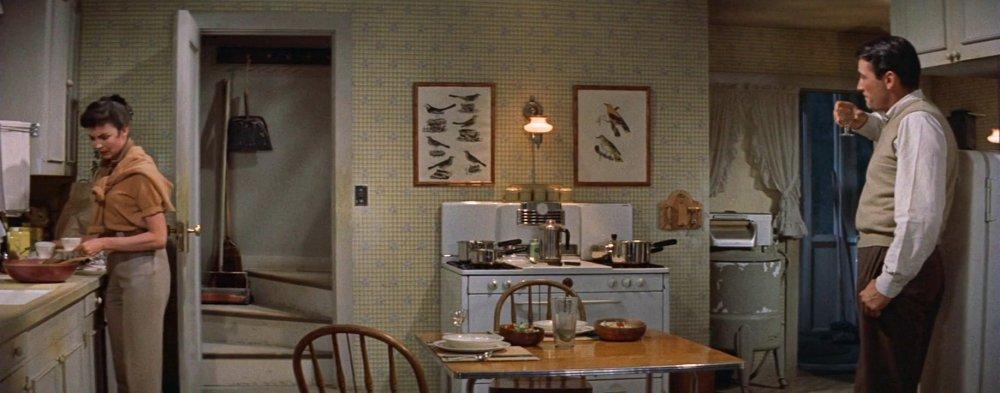 Jennifer Jones versus Gregory Peck in The Man in the Gray Flannel Suit (1956)