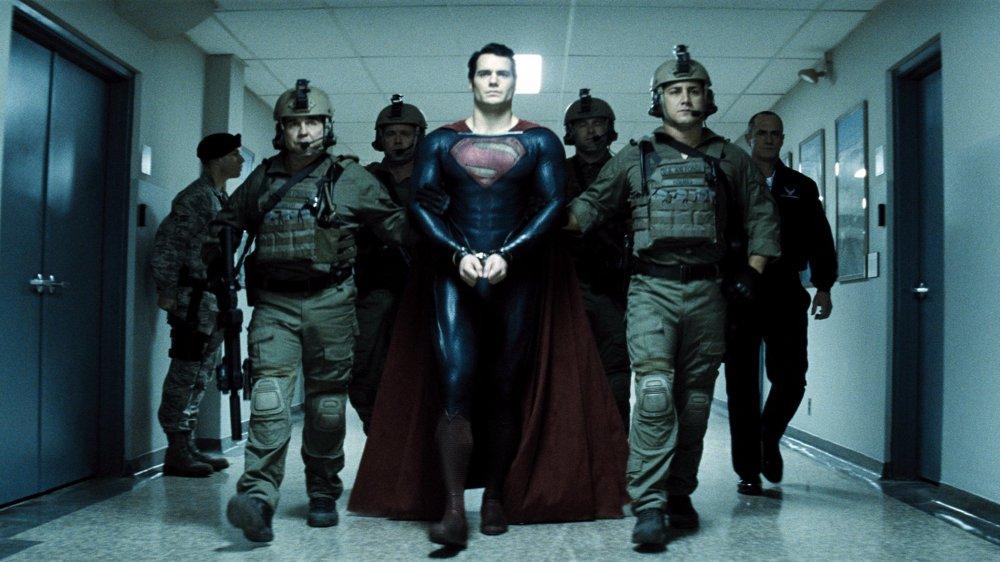 Scared stiff: DC/Warners' Man of Steel (2013)