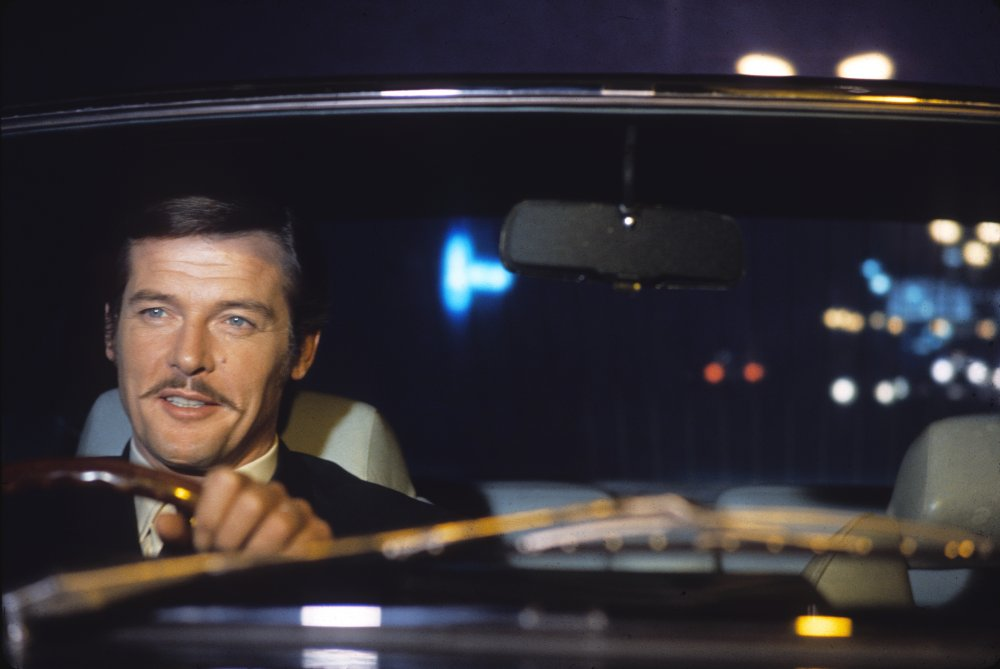 Roger Moore in The Man who Haunted Himself (1970)
