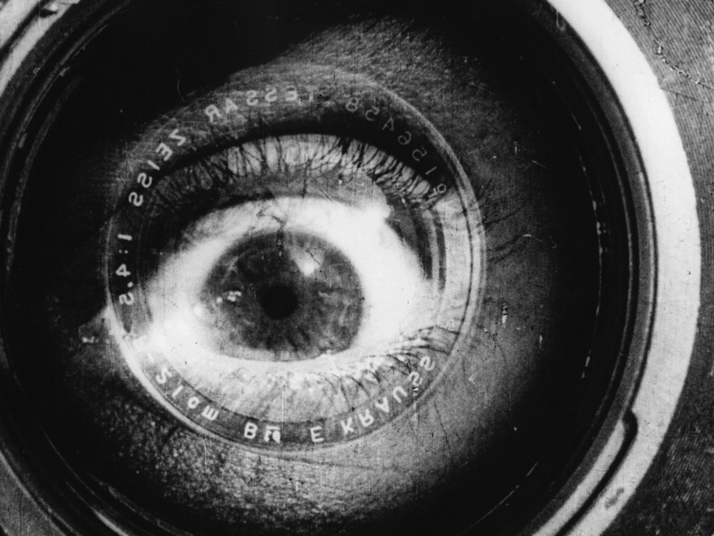 Man with a Movie Camera (1929). Berger quoted Vertov's 'I am an eye. A mechanical eye …' in Ways of Seeing