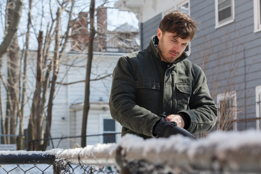 Casey Affleck as lonesome Boston janitor Lee Chandler
