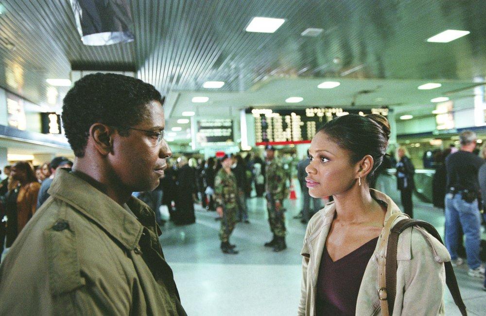 Denzel Washington with Kimberly Elise as Rosie