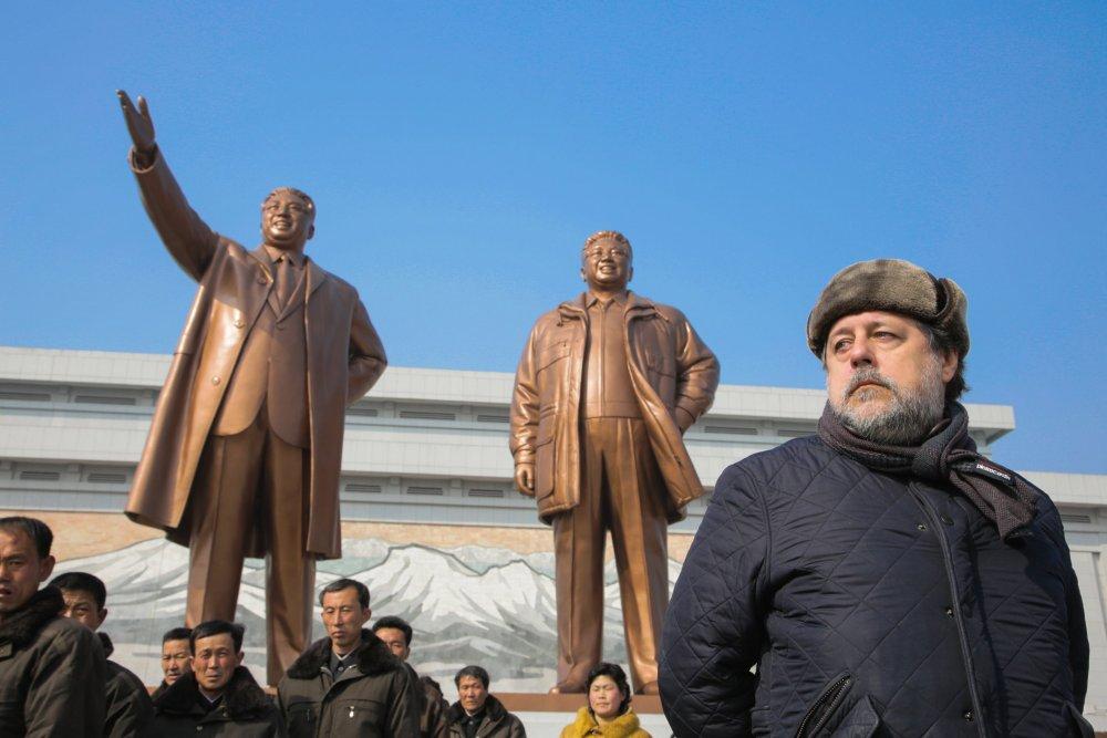 Vitaly Mansky in Pyongyang