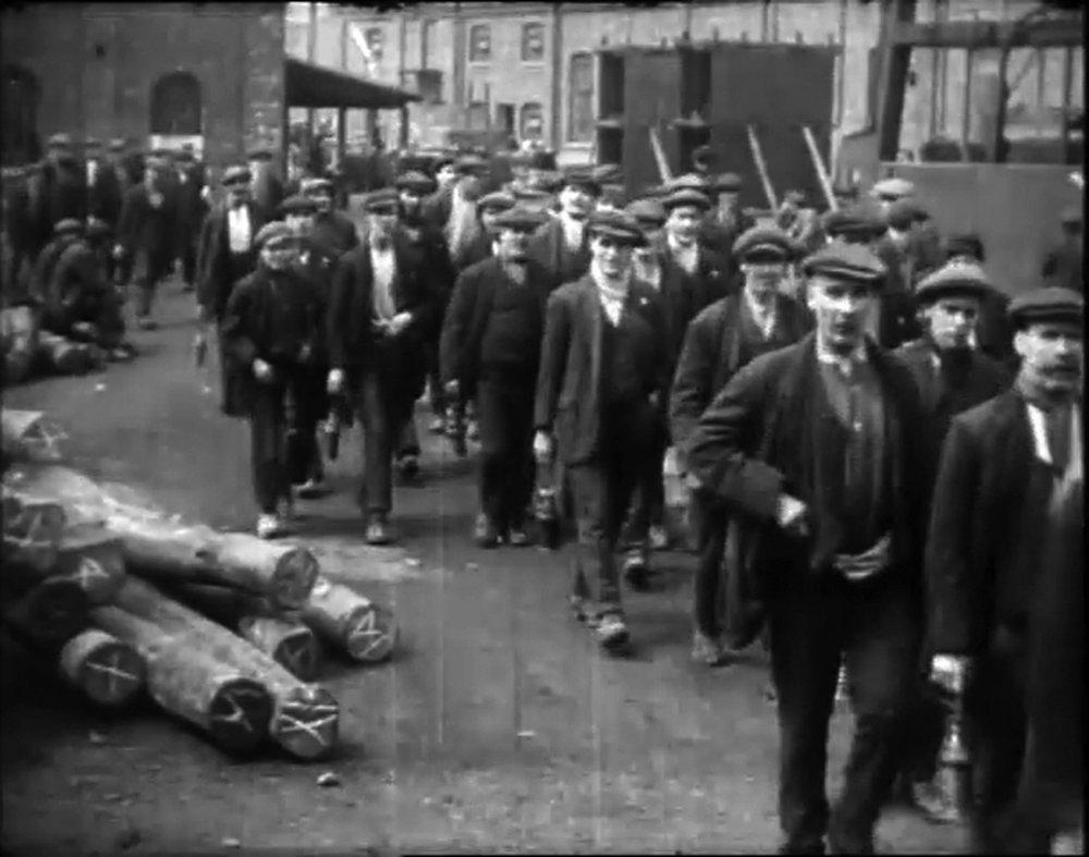 Manvers May Day Parade, 1919