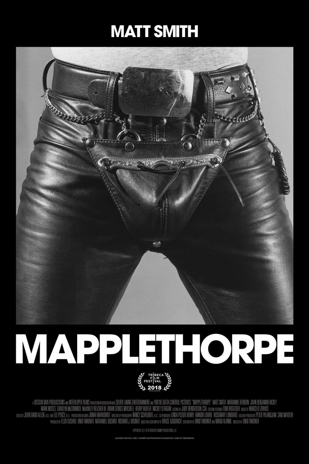 <strong>Mapplethorpe</strong> – Matt Smith stars as legendary photographer Robert Mapplethorpe in this full-frontal homage to the devilish bad boy, whose sex life fuelled his career