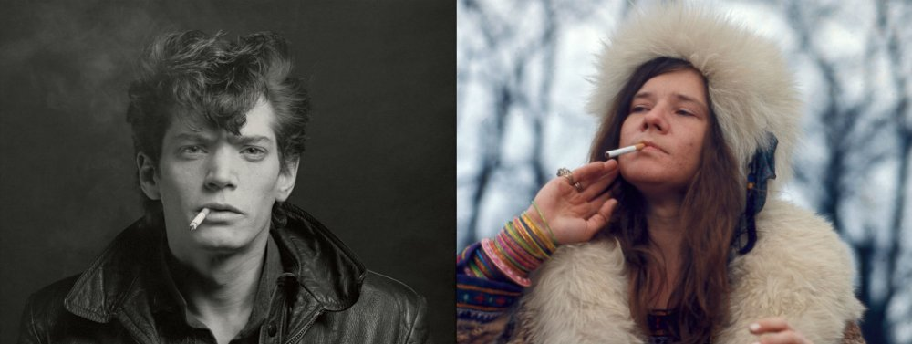 Mapplethorpe: Look at the Pictures and Janis: Little Girl Blue