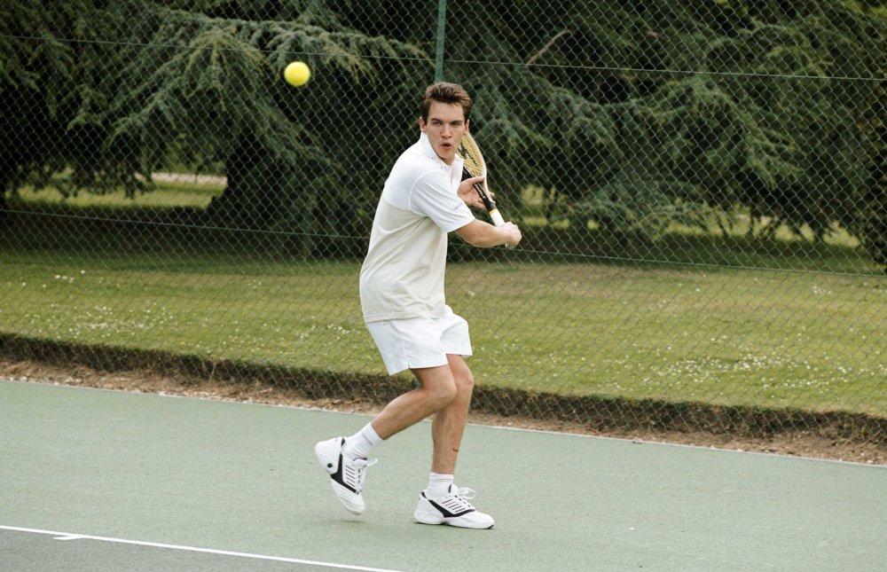 Jonathan Rhys Meyers plays retired tennis pro Chris Wilton, now an ...