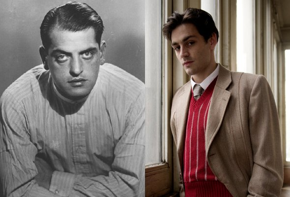 Luis Buñuel, as played by Matthew McNulty in Little Ashes (2008)