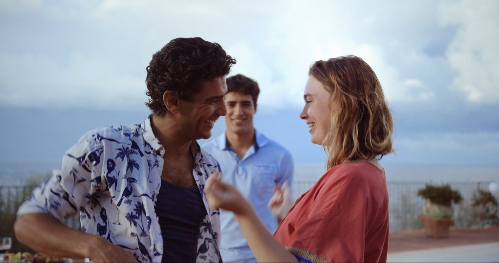 Marie Bernard and Salim Kechiouche