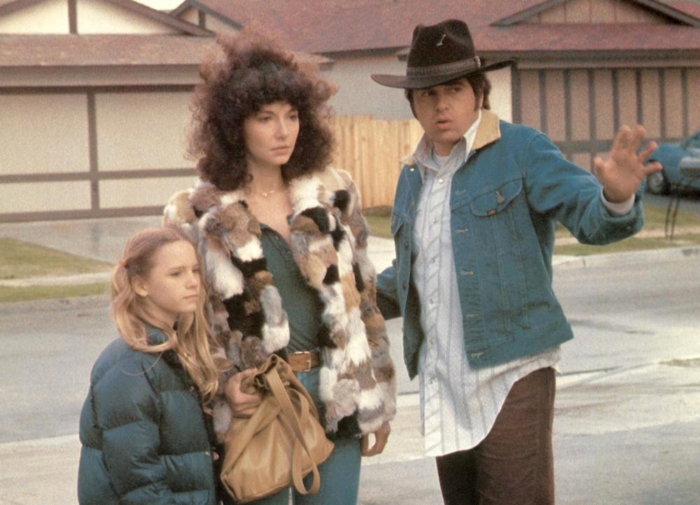 Pamela Reed, Mary Steenburgen and Paul le Mat as Bonnie, Lynda and Melvin Dummar in Jonathan Demme's loose-limbed take on an at least mostly true story
