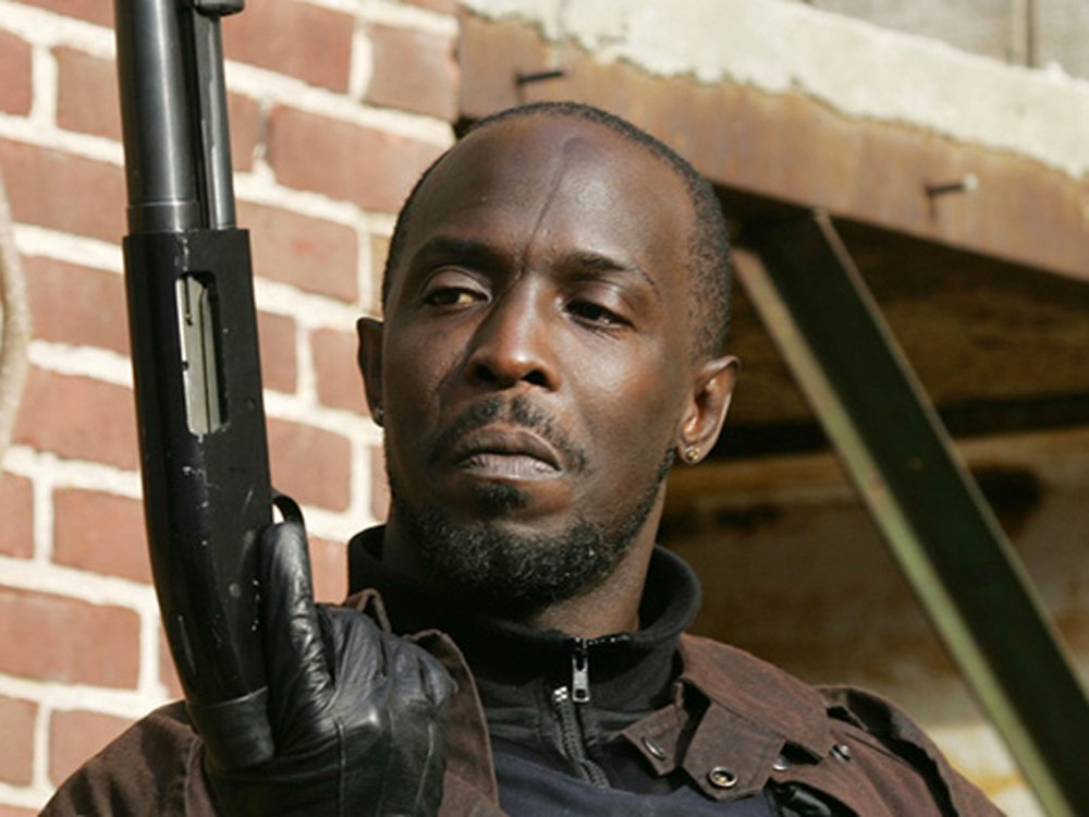 Michael K Williams in The Wire (2002-8)