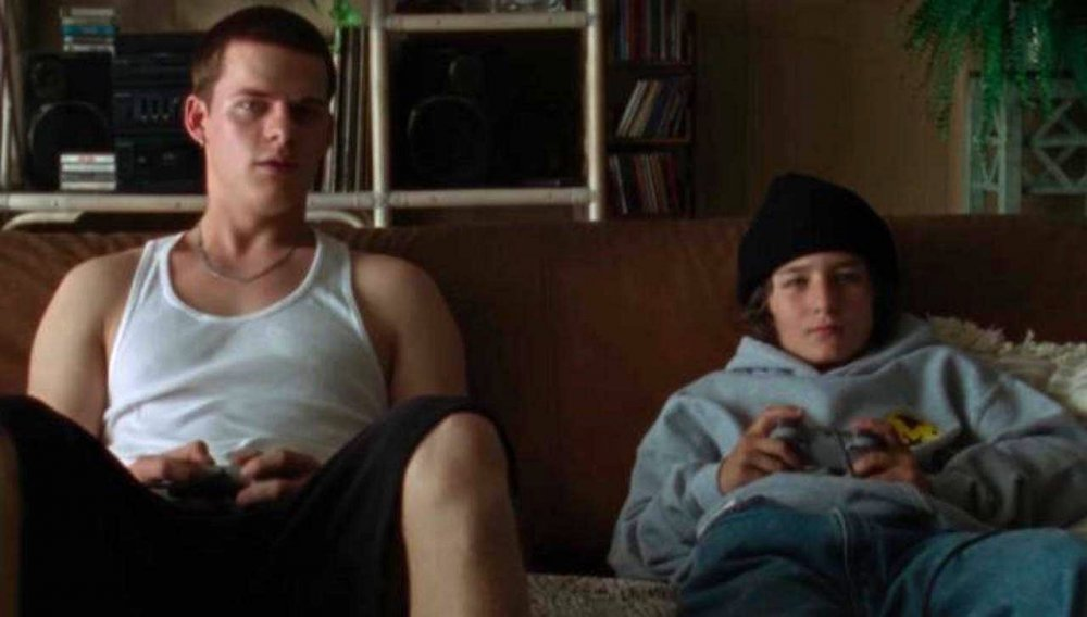 Lucas Hedges as Ian with Suljic