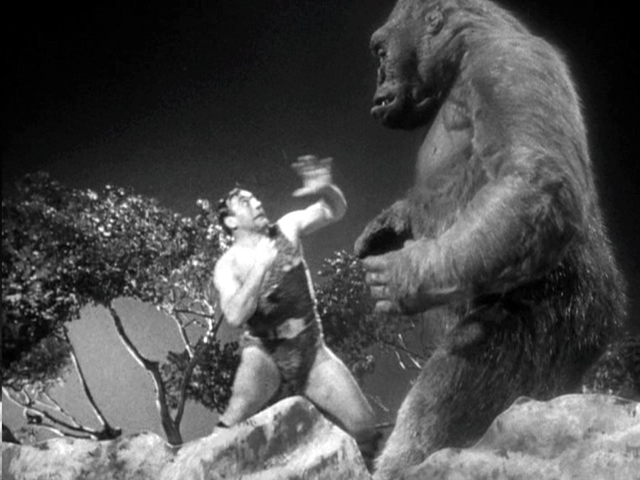 Mighty Joe Young (1959), Harryhausen's first hire as deputy to his mentor Willis O'Brien
