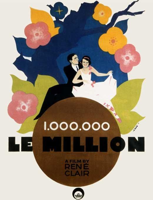 Le Million (1931) film poster