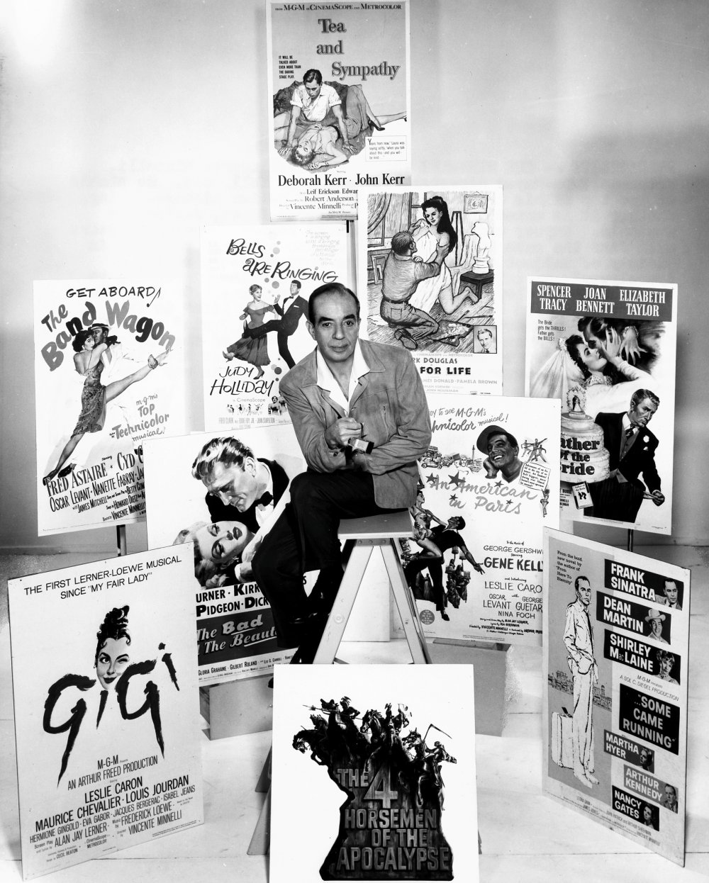 Designing man: Vincente Minnelli sets out his stall