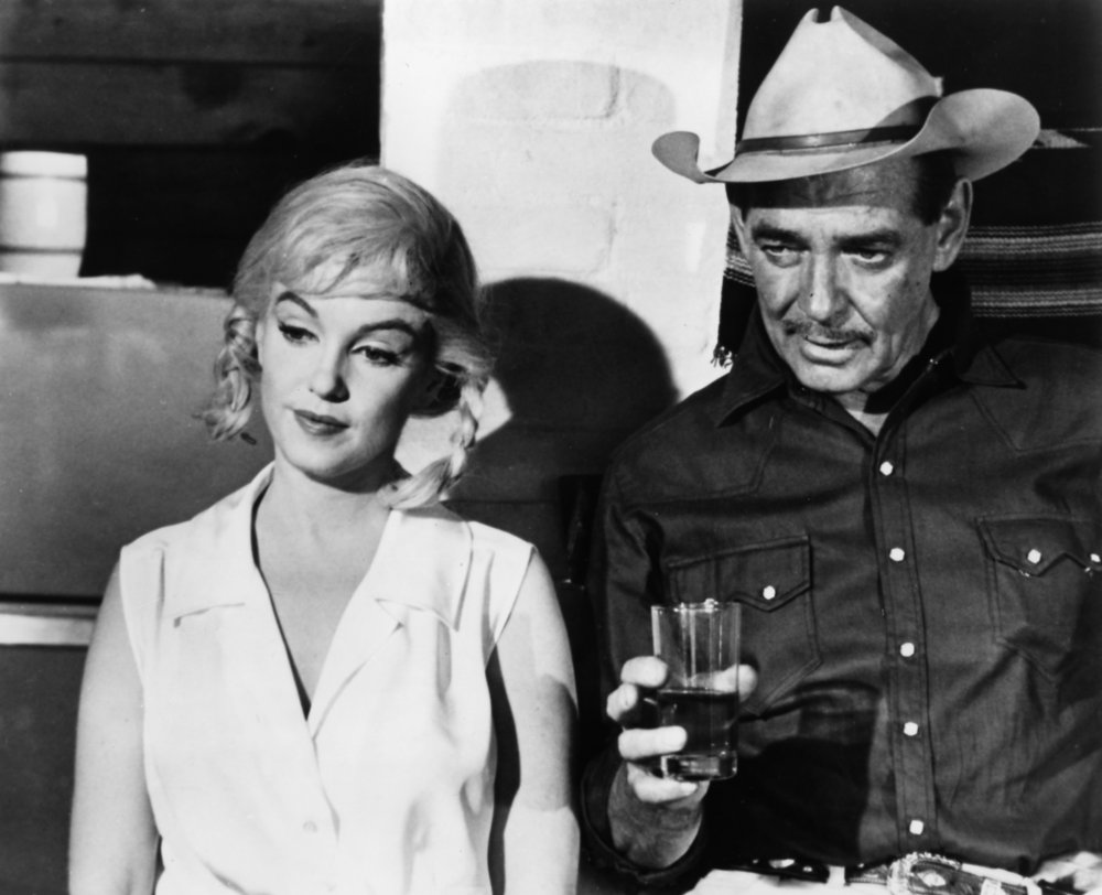 the film that fate helped make a classic  the misfits