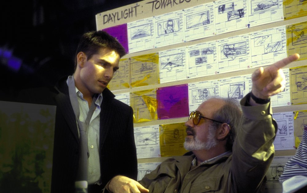 De Palma (2016): Tom Cruise and Brian De Palma on the set of Mission: Impossible (1996)